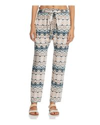 Eberjey - Multicolor Varadero Hudson Swim Cover-up Pants - Lyst