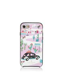 Kate Spade - Multicolor Road Trip Iphone 7 Case - Lyst