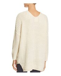 PPLA - White Ciel Knit Sweater - Lyst