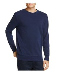 Uniform - Blue Crewneck Sweatshirt for Men - Lyst