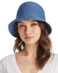 Aqua - Blue Ribbon Bucket Hat - Lyst