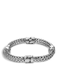 John Hardy - Metallic Women's Sterling Silver Kali Four Station Bracelet - Lyst