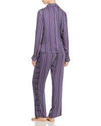 Splendid - Blue Intimates Striped Pajama Set - Lyst