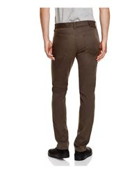 Vince - Gray Essential Soho Slim Fit Twill Chinos for Men - Lyst