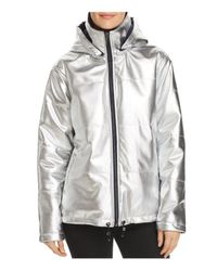 Kenneth Cole - Metallic Puffer Jacket - Lyst