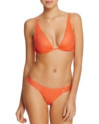 Heidi Klum - Orange An Angel Kiss Underwire Triangle Bra - Lyst