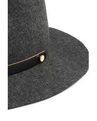 Rag & Bone - Black Packable Abbott Fedora for Men - Lyst