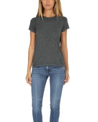Rag & Bone - Green /jean The Burnout Tee - Lyst