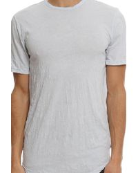 Cotton Citizen - White Hendrix Crinkle Tee for Men - Lyst