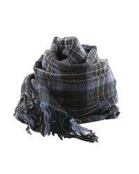 C P Company - Blue Woven Scarf for Men - Lyst