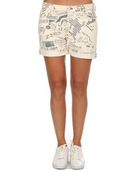 Mother Multicolor The Vagabond Cuff Shorts