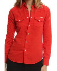 Mother - Red All My Ex's Button Down - Lyst