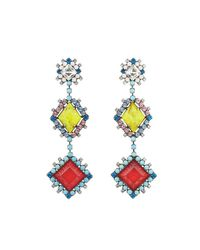 DANNIJO - Metallic Esposa Earrings - Lyst