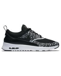 Nike | White Air Max Thea Print Low-Top Sneakers | Lyst