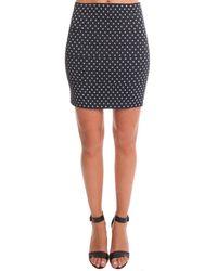 Pleasure Doing Business | Blue Pleasure Doing Buisness Stars Banded Mini Skirt | Lyst