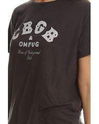 R13 Black Cbgb Boy Tee
