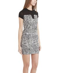 IRO | Black Kamron Printed Dress | Lyst