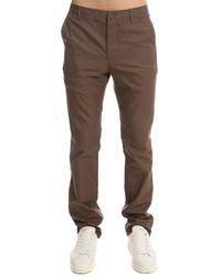 Shipley & Halmos | Brown Shull Slant Pocket Pant for Men | Lyst