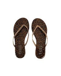 TKEES - Brown Flip Flops Facepaints - Lyst