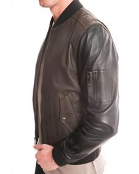 Todd Snyder - Green Calf Skin Jacket for Men - Lyst