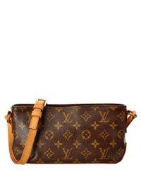 Louis Vuitton - Brown Monogram Canvas Trotteur Bag - Lyst