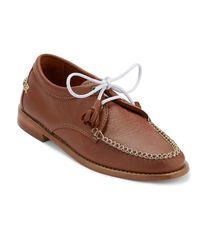 G.H.BASS - Brown . Womens Winnie Oxford Shoe - Lyst