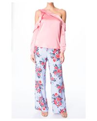 Parker - Pink Piper Blouse - Lyst