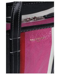 Balenciaga - Women's Pink Canvas Shoulder Bag - Lyst