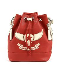 Andrew Charles by Andy Hilfiger - Andrew Charles Womens Handbag Red Lucinda - Lyst