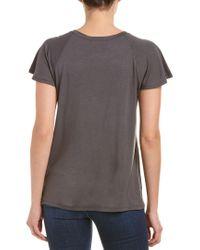 Caleigh & Clover - Gray Harris T-shirt - Lyst