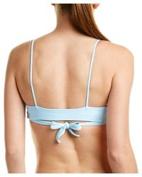 L*Space - Blue L* Chloe Halter Top - Lyst