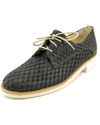 Paul Green | Finley Women Round Toe Leather Black Oxford for Men | Lyst