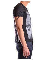 Tom Rebl - Men's Black Cotton T-shirt for Men - Lyst