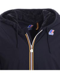 K-Way - Men's Blue Polyester Outerwear Jacket for Men - Lyst