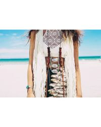 Love Leather - Multicolor Morning Star Necklace - Lyst