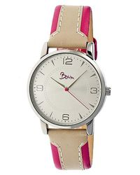 Boum - Natural Contraire Leather-band Watch - Lyst