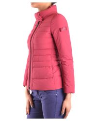 Peuterey - Red Women's Burgundy Polyamide Down Jacket - Lyst