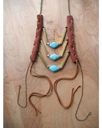 Love Leather - Multicolor Wading Waters Necklace - Lyst