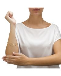 "Palmbeach Jewelry - White Spoiled Rotten Charm Bracelet In 10k Gold 7 1/2\"" - Lyst"