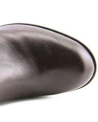 Bandolino - Brown Baya Round Toe Leather Knee High Boot - Lyst