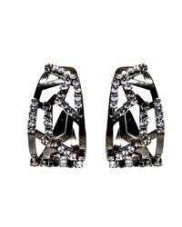 Nicole Romano - Metallic Circini Earrings - Lyst