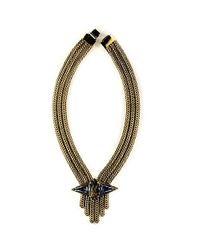 Nicole Romano | Metallic Fai Necklace | Lyst