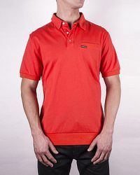 Members Only - Red Men's Signature Polo Shirt for Men - Lyst