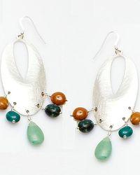 Nakamol - Multicolor Narcissus Earrings-green - Lyst