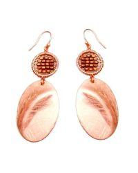 Nakamol - Multicolor Sida Earrings-copper - Lyst