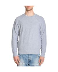Michael Kors - Gray Men's Grey Cotton Sweatshirt for Men - Lyst