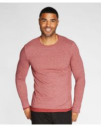 Threads For Thought | Pink Double Layer Crew Neck for Men | Lyst