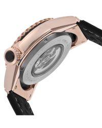Elini Barokas - Metallic Genesis Prime Automatic Black Silicone And Dial Rose-tone Case for Men - Lyst