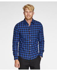 Threads For Thought | Blue One Pocket Flannel Shirt for Men | Lyst