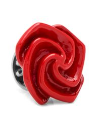 Ox and Bull Trading Co. | Red Flower Lapel Pin | Lyst